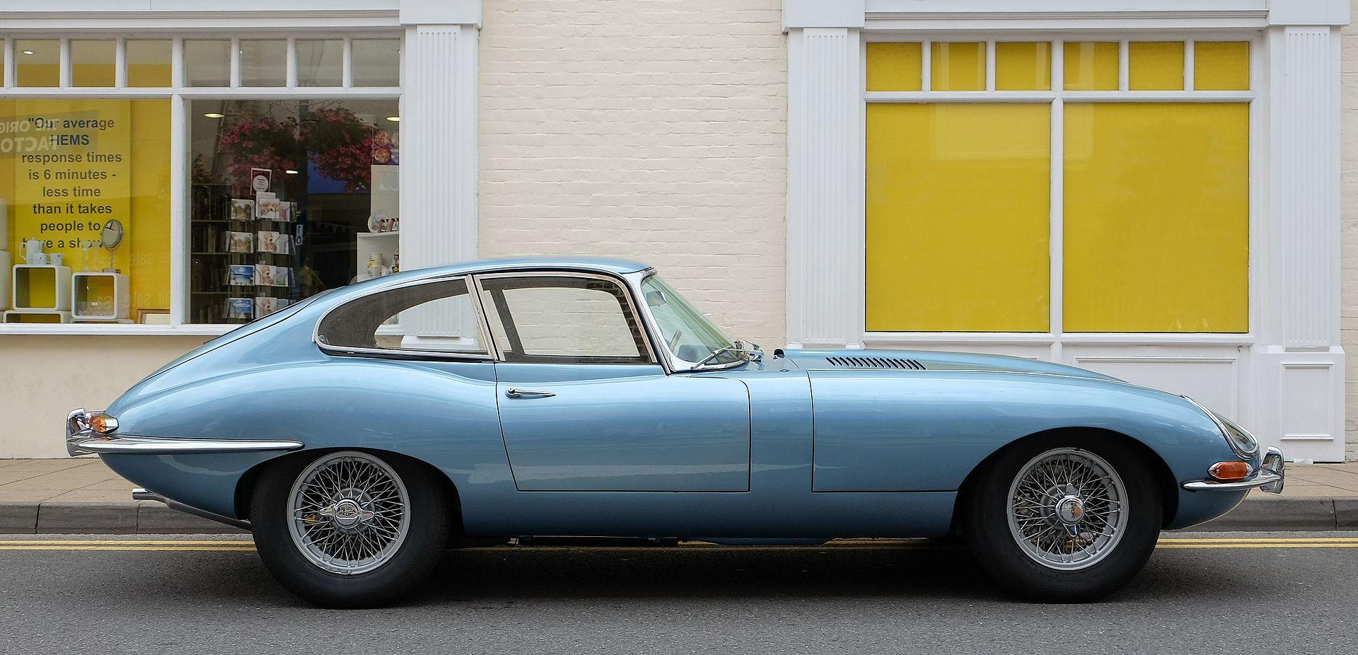 Jaguar e type v fhc series 1972