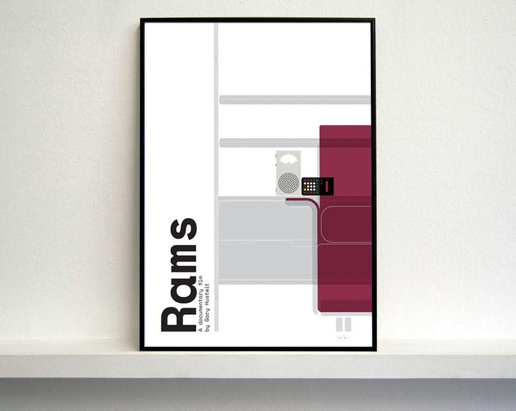 rams_poster_framed