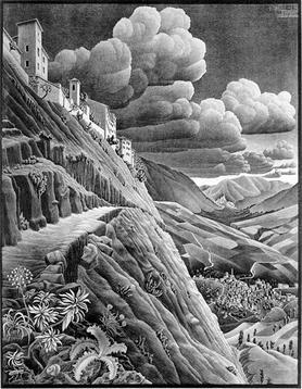 Castrovalva_-M._C._Escher--1